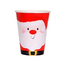 Vaso Santa Clauss 9,5 CM 6 UDES