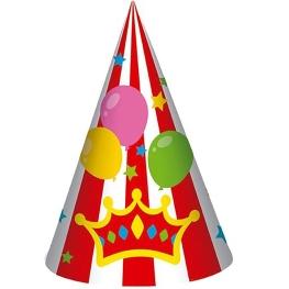 Sombrero circus 6 unidades