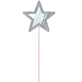 Varita estrella espejo