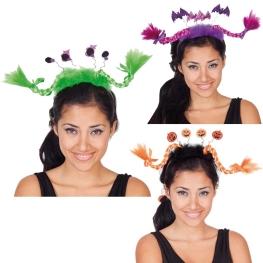 Diadema coletas Halloween (3 modelos)