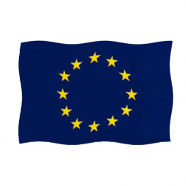 Bandera Europa 100x65 cm