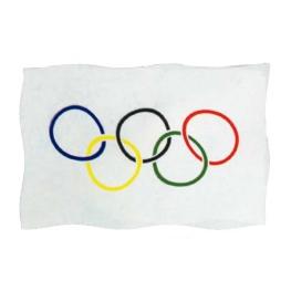 Bandera Olímpica 150x100 cm