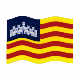 Bandera Baleares 150x100 cm