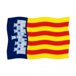 Bandera Mallorca 150x100 cm