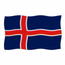 Bandera Islandia 150x100 cm