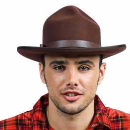 Sombrero Canadiense Marrón