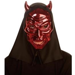 Mascara Metalica De Demonio 26X18X10Cm.