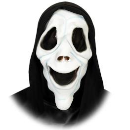 Careta fantasma con capucha