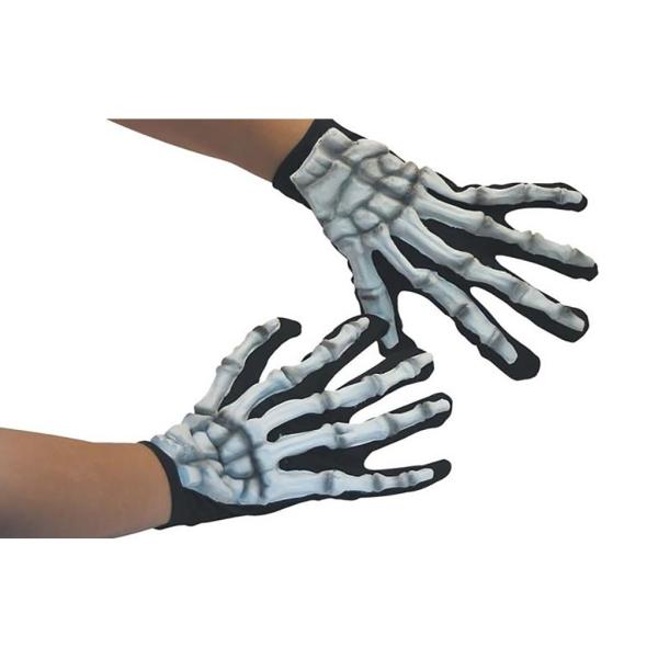 Guantes esqueleto látex