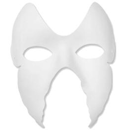Máscara para pintar con forma cara de mariposa