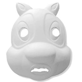 Máscara para pintar con forma cara de ardilla