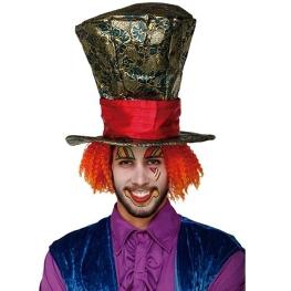 Mega sombrero con peluca 33cm