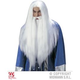 Peluca Mago con Barba