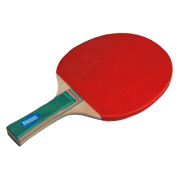Pala tenis mesa de goma con puntos