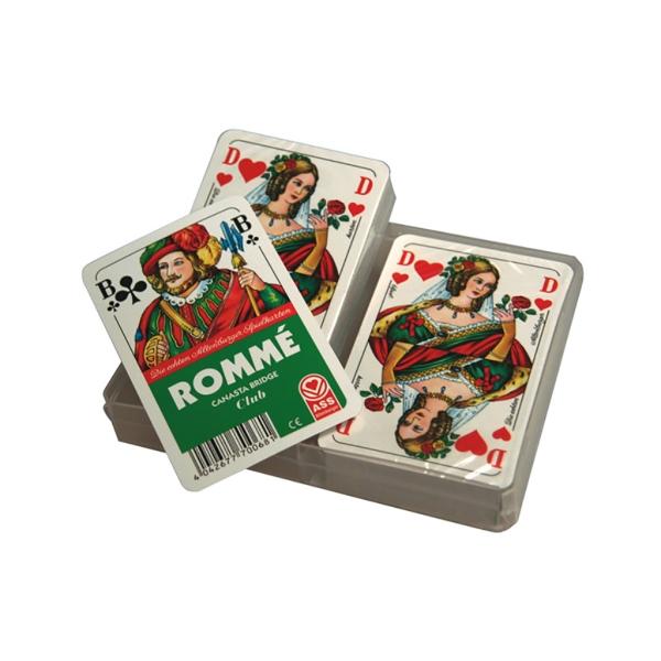 Juego cartas Rommé
