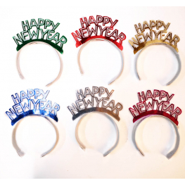 Tiara happy new year 15x20 cm.
