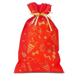 Bolsa biodegradable con cierre cinta 30x55 cm.