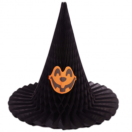 Sombrero de bruja nido abeja
