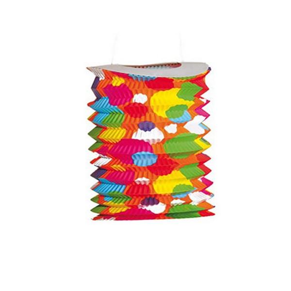 Farolillo tubular topos 20x16 cm