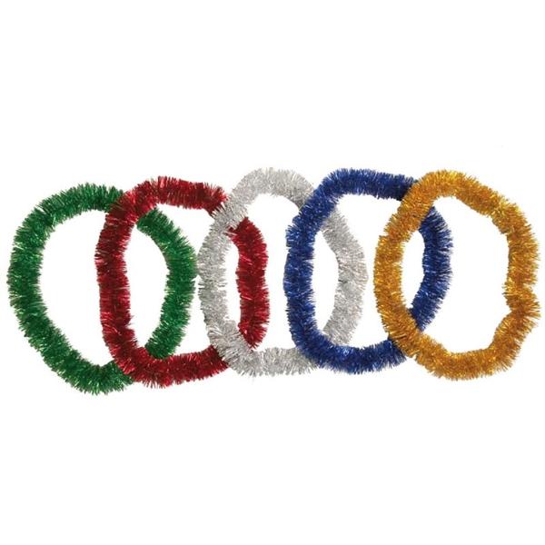 Collar Espumillon Cotillon 90Cm Oro