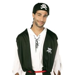 Gorra pirata con calavera
