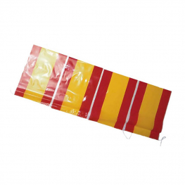 Tira bandera plástico española 50 m