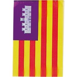 Tira bandera plástico Baleares 50 m