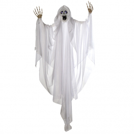 Fantasma blanco con luz