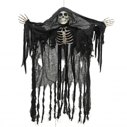 Esqueleto fantasma con luz