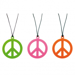 Collar hippie colores