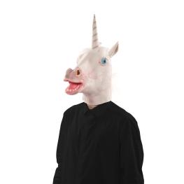 Máscara Unicornio Látex
