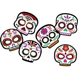 Máscaras día de los muertos