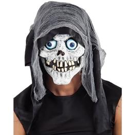 Máscara muerte con capucha