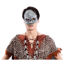 Media Mascara Esqueleto Latex