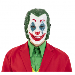 Mascara Payaso Plastico 22,5X28X23 Cm.