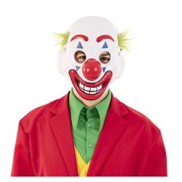 Mascara Payaso Sonriente Plastico 23X23,5X8 Cm.