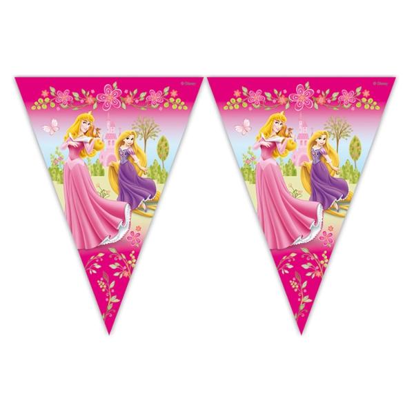 Tira Bandera Princesas 3Metros