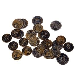 Bolsa 30 monedas Pirata