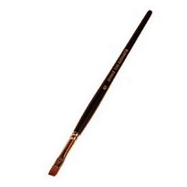 Pincel de marta plano nº 2 (2 mm)