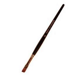 Pincel de marta plano nº 6 (6 mm)