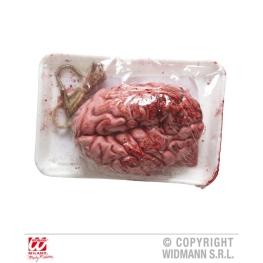Cerebro sangriento envasado