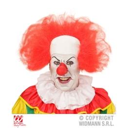 Calva clown con pelos rojos