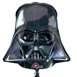 Globo c/helio  darth vader helmet figura