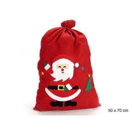 Saco tela Papá Noel