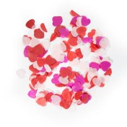Confetti corazón grande 100 gramos