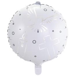 Globo con helio comunion 45cm