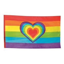 Bandera arco iris poliéster