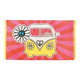 Bandera hippie poliéster