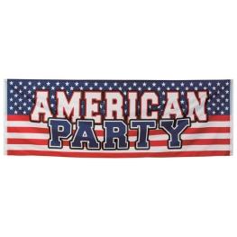 Pancarta USA poliéster