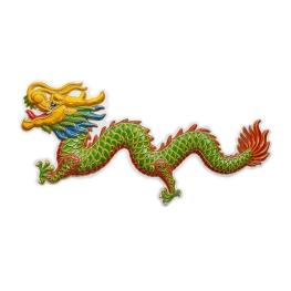 Dragón 100x42 cm.